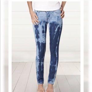 Lucky brand tie dye skinny denim jeans size 28